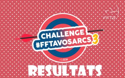 challenge fftavosarcs 3 résultats